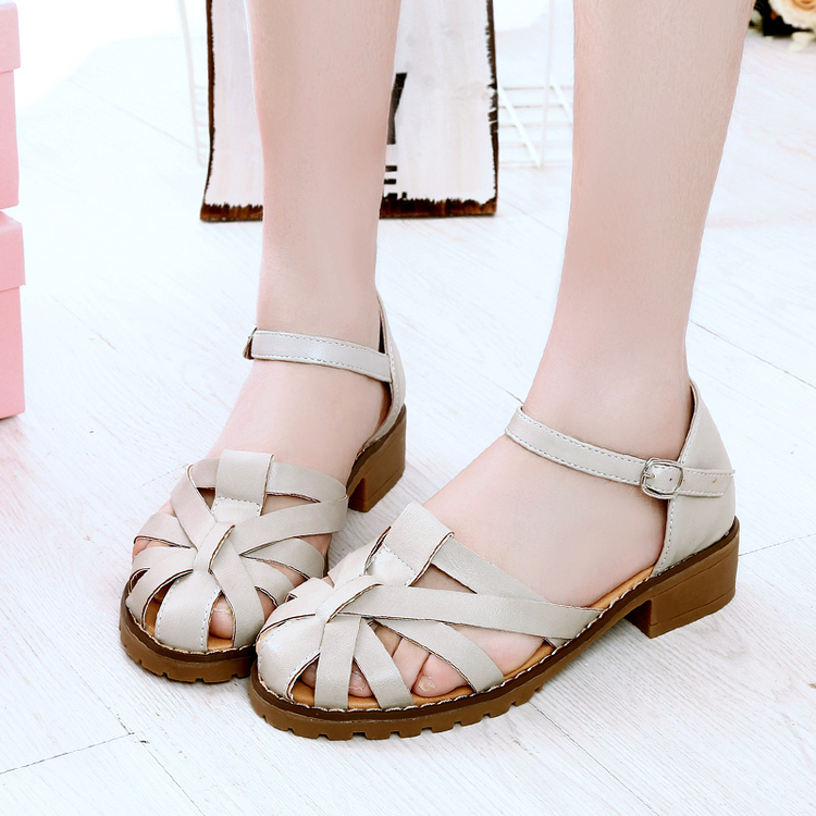 Brogue Shoes Women Oxfords British Style Creepers Cut-Outs Flat Casual Summer Flat Sandals Ankle Strap Gladiator Roman Shoes phyanic 2017 gladiator sandals gold silver shoes woman summer platform wedges glitters creepers casual women shoes phy3323