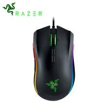 Razer Mamba Elite Wired Gaming Mouse Ergonomische Laser Multi farben 16,000 DPI eSports 16000 DPI Sensor Maus Für PC gamer Laptop