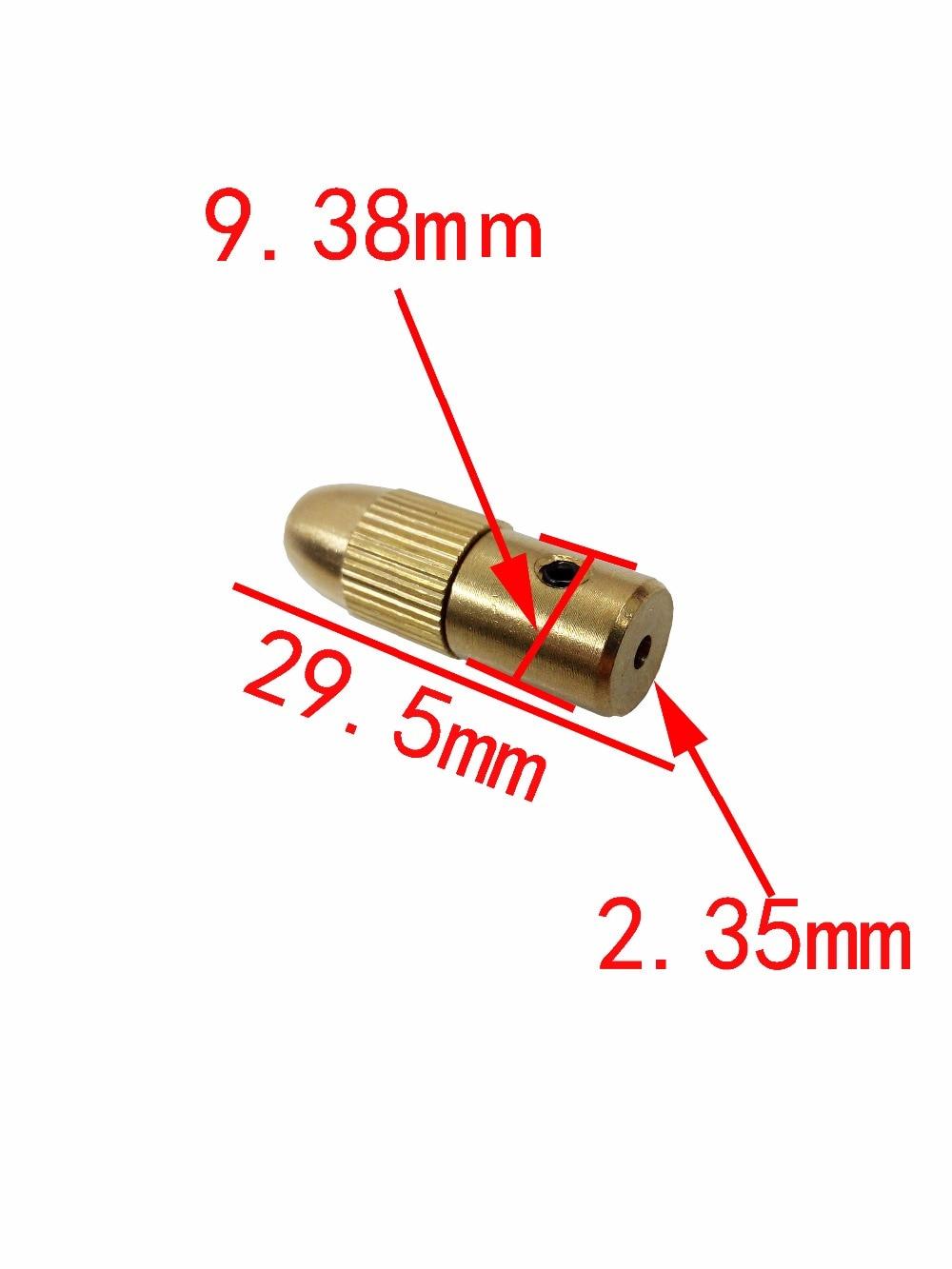 12pc / Set Mini taladro Chulet Chuck de latón para herramienta - Accesorios para herramientas eléctricas - foto 2