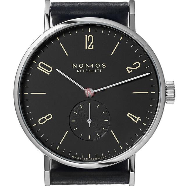 Famous Name Brand nomos Mens Women Watches Genuine Leather Luxury Watch Men Business Simple Quartz Watch Montre Homme de Marque