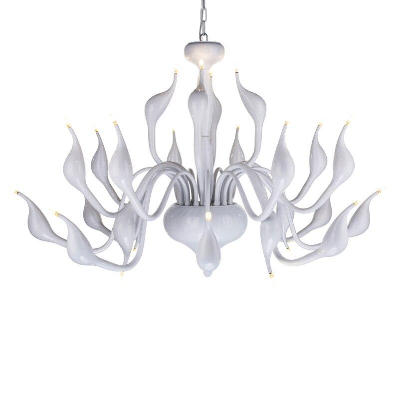 Modern Swan 24 Head Led Chandelier Light Toolery Art Deco