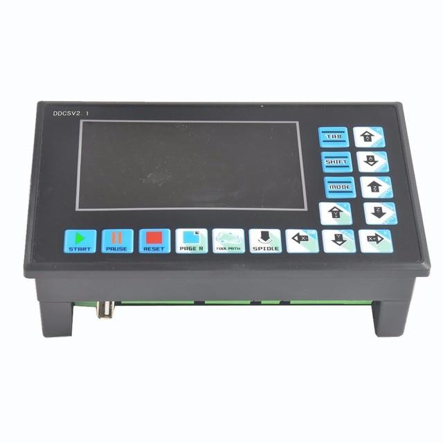 new ddcsv numerical control system u disk g code engraving  new ddcsv1 1 numerical control system u disk g code engraving machine controller movement