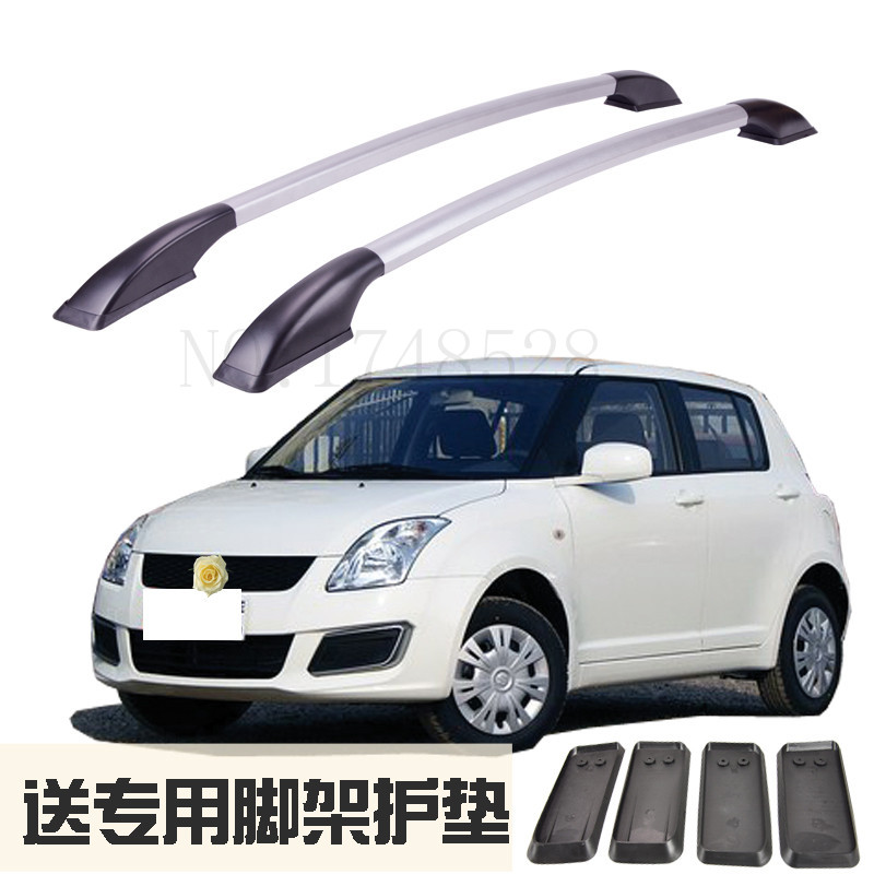 Accessories Refitting the roof rack of aluminum alloy luggage rack for Suzuki swifts Auto parts 1.3M partol black car roof rack cross bars roof luggage carrier cargo boxes bike rack 45kg 100lbs for honda pilot 2013 2014 2015