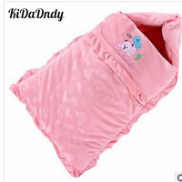 Autumn And Winter Cotton Thickening Newborn Babies Sleeping Bag Baby Sleeping Bag Was Hold Blanket JR095