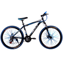 Bicycle New Aluminum Alloy Mountain Bike 26-inch 24 Speed Colorful for Adult