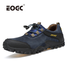 Купить с кэшбэком Fashion Men Shoes Comfortable Waterproof Outdoor Casual Shoes M Lace-Up Spring Autumn Rubber Sneakers Dropshipping