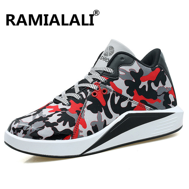 7b1a4a13abe7 US $39.98 |Ramialali Men Running Shoes Camouflage Sports For Men Canvas  Shoes Comfortable Man Sneakers Sports Shoes Zapatillas Deportivas-in  Running ...