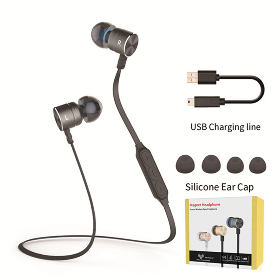New-PlEXTONE-Metal-Magnet-In-ear-Auriculares-Bluetooth-Headset-Wireless-Sport-Running-Stereo-Earphone-Earbuds-with