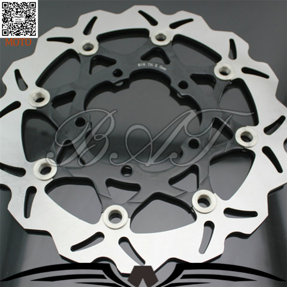 Motorcycle Accessories Front Brake Discs Rotor For Suzuki GSXR600 750 2006-2007 motorbike front brake motorcycle accessories front brake discs rotor for suzuki gsf1200 2006 06 motorbike accessories front brake cn