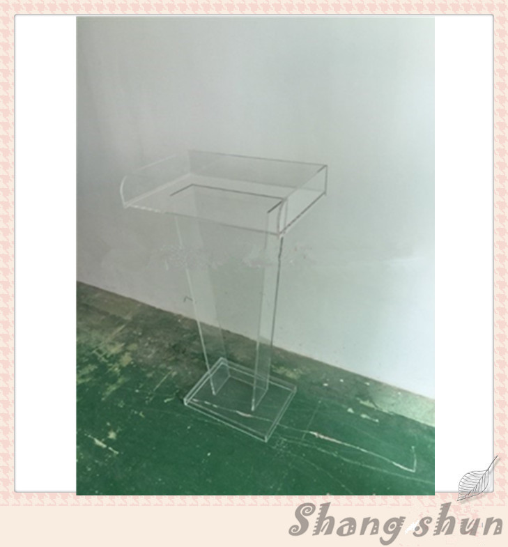 Clear Speech Podium Conference Plexiglass Clear Teaching Podium Lectern Acrylic Book Lectern Podiums Podium church pastor the church podium lectern podium desk lectern podium christian acrylic welcome desk front desk
