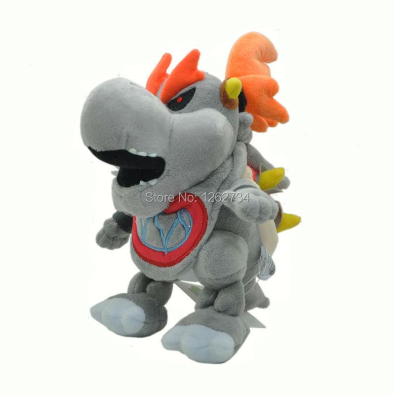 Toys Games 2x New Super Mario Bros Plush Dry Bowser Jr Soft Toy
