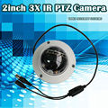 Free shipping!2.0MP1080p 2inch MINI Speed Dome IR Camera Network PTZ Dome 3x Optical Zoom