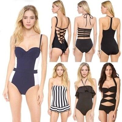 2017 nuova primavera estate vendita calda di un pezzo del costume da bagno costume da bagno economici swimwear della signora del