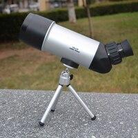 HSEAYM 10X50 Monoculaire Portable Version Améliorée Paysage objectif Grand Oculaire Espace Camping Voyage Vision Portée Télescope