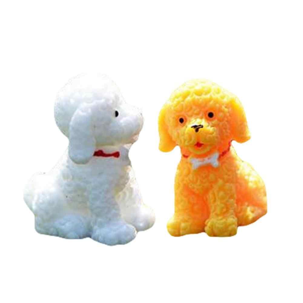 2 шт. Новый мини смола милая собака миниатюрный животное пейзаж садовый