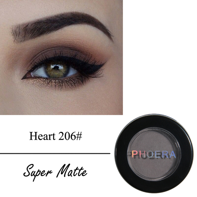 PHOERA Matte Eyeshadow Palette Waterproof Lasting Eye Shadow Beauty Makeup Cosmetics maquillaje profesional sombra TSLM2 2