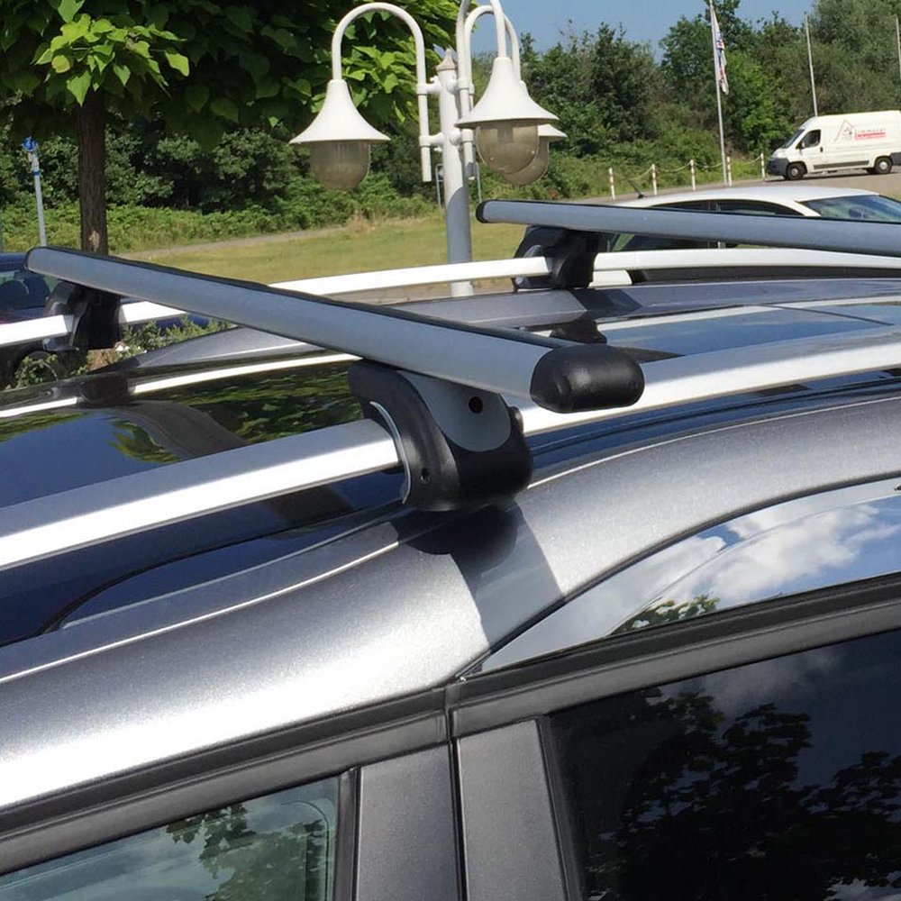 1240mm Auto Vehicles Car Roof Top Rack Cross Bars Luggage Cargo Storage Travel Touring Carrier Load 90 kg