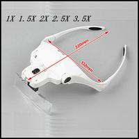 F Watch Clock Repair Dental Loupes Eyelash Extension 1X 1 5X 2X 2 5X 3 5X