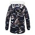 Down jacket 2016 Burst Camouflage Jackets Designer Brand Fashion Winter Jacket Men Camo Snow Long Casual Coats Jacket EDA886