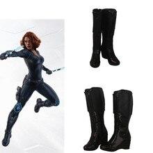 Фильм Мстители эндгейм квантовое царство передовая технология косплей супергерой черная вдов обувь косплей на заказ Хэллоуин мультфильм обувь