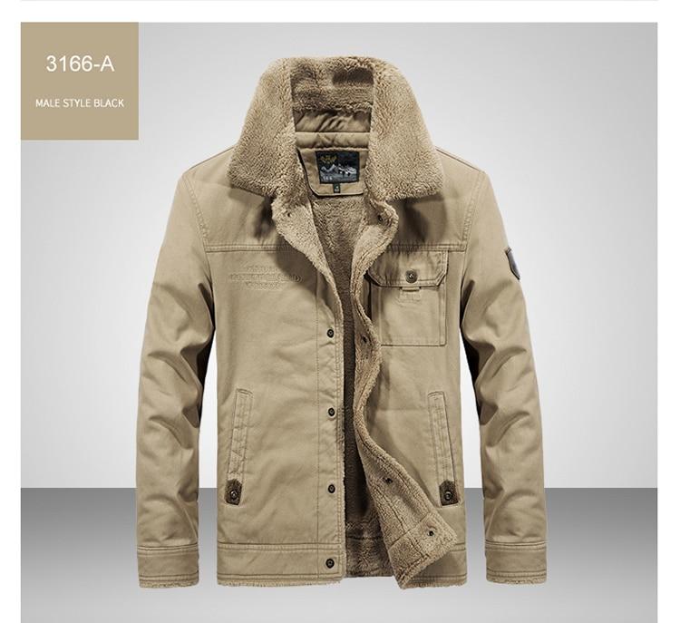 HTB1P01uaYH1gK0jSZFwq6A7aXXat FGKKS Winter Men Jacket Men's Fashion Fleece Fur Collar Jackets Male Tactical Mens Warm Jackets Coats