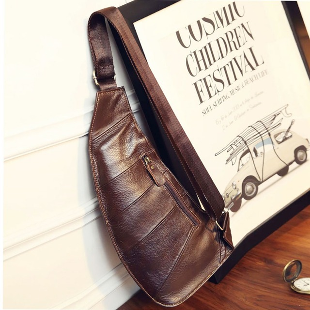 ACO Genuine Leather CrossBody Bag