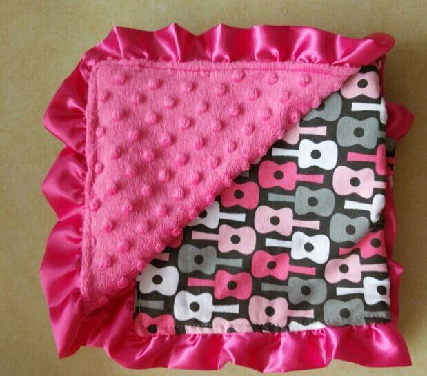 0183972800ef3 5pcs Personality Velvet blanket newborn minky baby blanket handmade ...