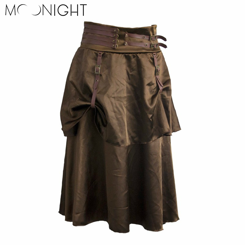 MOONIGHT Apparel Retro corduroy high waist skirt button slim mini skirt Preppy single breasted Autumn women Straight Skirt