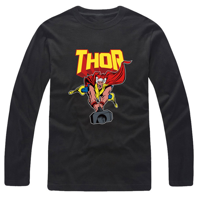 22e8a8fc0 Mode-Loki-T-shirt-Impression-Thor-T-Chemise-pour-Hommes-Femmes-col-rond-Manches-longues-T.jpg_640x640.jpg
