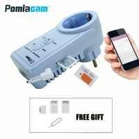 V106 10A EU GSM Steckdose Fernbedienung Schalter Smart Buchsen Outlet SMS Home Automation Russische