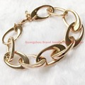 Best Price! New Arrival Lady Women Rose Gold Bling 316L Stainless Steel TOP Grade Chain Bracelet Gift Stylish Cool Jewelry