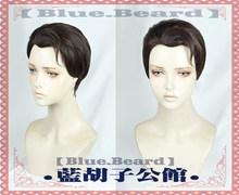 Detroit Become Human Connor Dark Brown Anime Cosplay costume Wig +Wig CAP +Track(China)