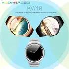 KW18 Bluetooth smart watch полный экран Поддержка sim карта TF smart watch телефон Heart Rate трекер для apple gear s2 huawei xiaomi