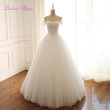 LCELAND POPPY A-line Wedding Dresses Floor Length