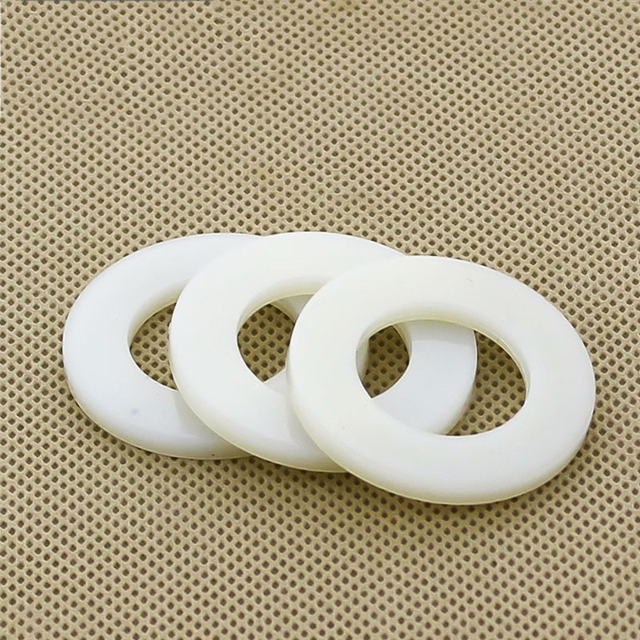 20PCS M10/M12*20*2 Poly Nylon Washer / Insulated Flat Pad / Plastic ...