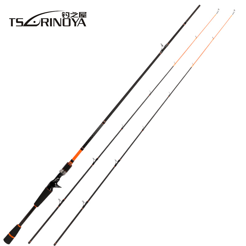 TSURINOYA JOY TOGETHER 2 Tips M/ML Power 2.1m 2.4m Spinning Fishing Rod Carbon Fiber Lure RodCanne A Peche Olta Fishing Tackle trulinoya 2 1m 7 0 soft carbon spinning fishing rod with two tips m mh power fishing tackle