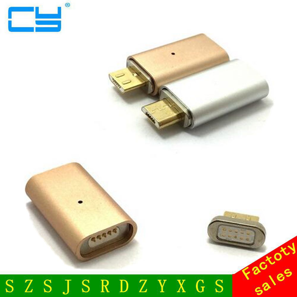 10pcs/Lot Micro USB to Magnetic Charger Data Adapter Cable for Android Phone Samsung Sony HTC Xiaomi Huawei micro usb port magnetic adapter charger for android micro usb charging flex cable for smart phone