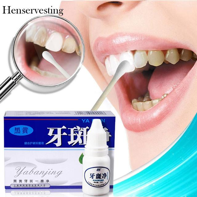 Teeth Whitening Liquid Unisex Remove Tea Stain Coffee Stain Reduce