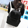 2017 nova moda feminina estilo Coreano mochila de couro estudantes sacos de meninas da escola sacos de viagem de grande capacidade