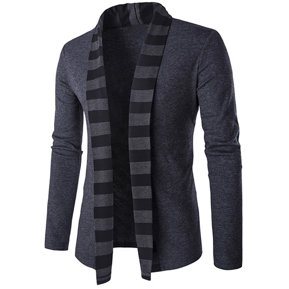 Hemiks New Trend Shawl Collar Cardigan Sweater Men Pull ...