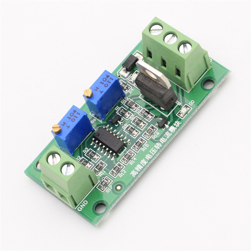 0-5V to 0-20mA Voltage to Current Converter Signal Conversion Module V/I Voltage / Current Converter