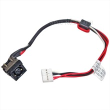 JINTAI 100% New Laptop DC POWER JACK Flex Harness In Cable W
