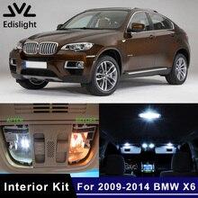 Edis светильник 22 шт. Canbus без ошибок светодиодный светильник автомобильные лампы внутренняя посылка комплект для 2009- BMW X6 E71 Карта Купол багажник дверь пластина светильник