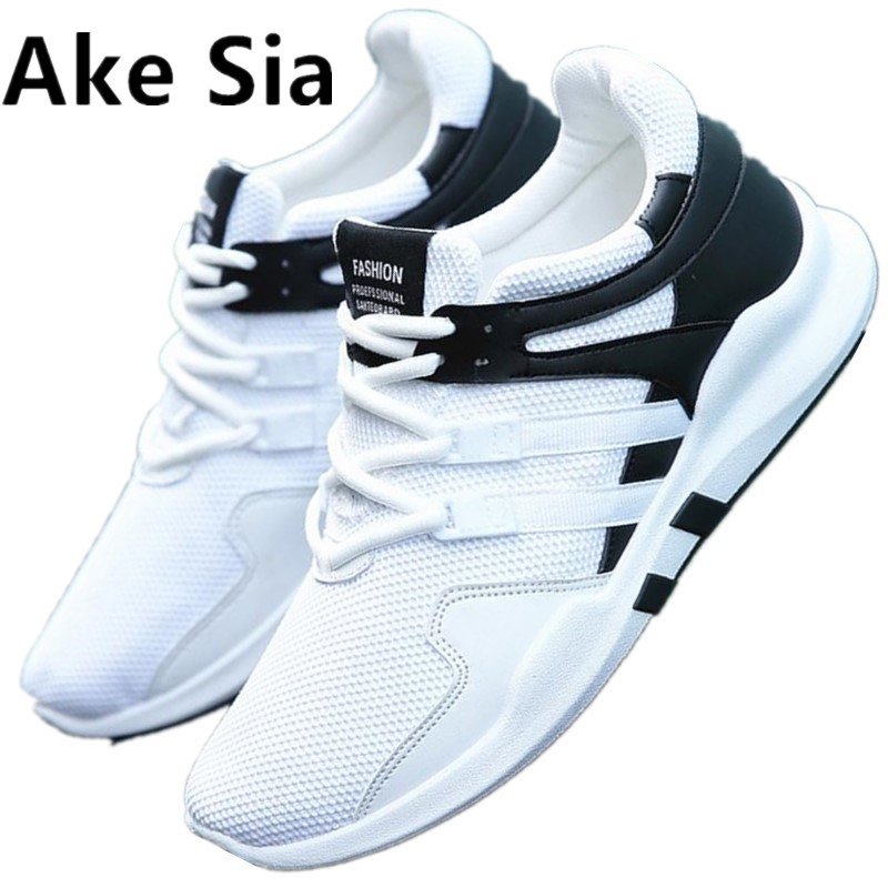 HOT 2017 Spring Autumn breathable shoes casual men's shoes Korean version of the trend of small whit Mesh shoes