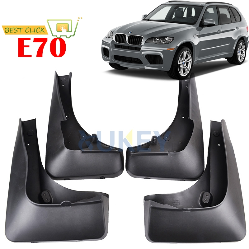 XUKEY FRONT REAR MUDFLAPS FIT FOR BMW X5 E70 2007 2013 ACCESSORIES MUD FLAP FLAPS SPLASH