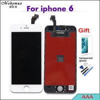 AAA LCD Screen For Apple IPhone 4S 4 5 5S 6 Capacitive Display With Digitizer Touch