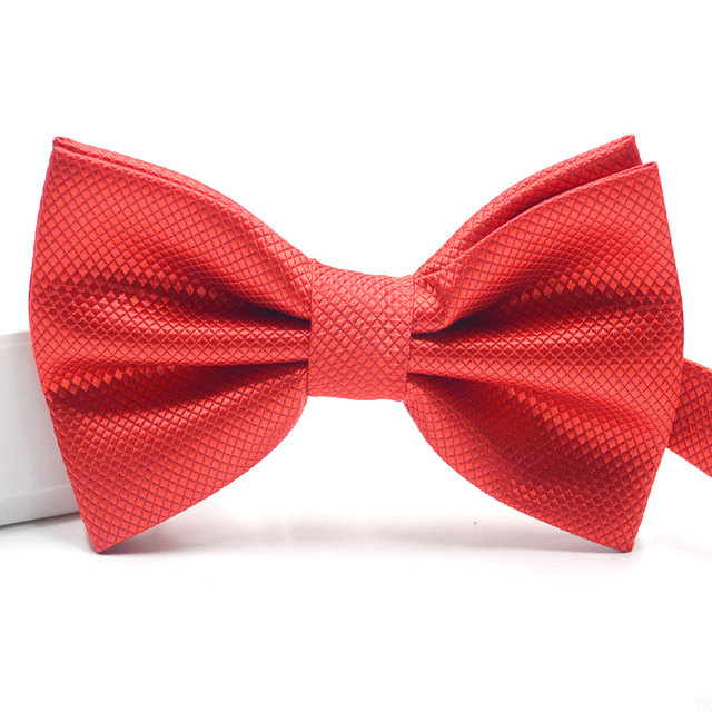 Men's Classic Wedding Bow tie – Pre Tied – Adjustable