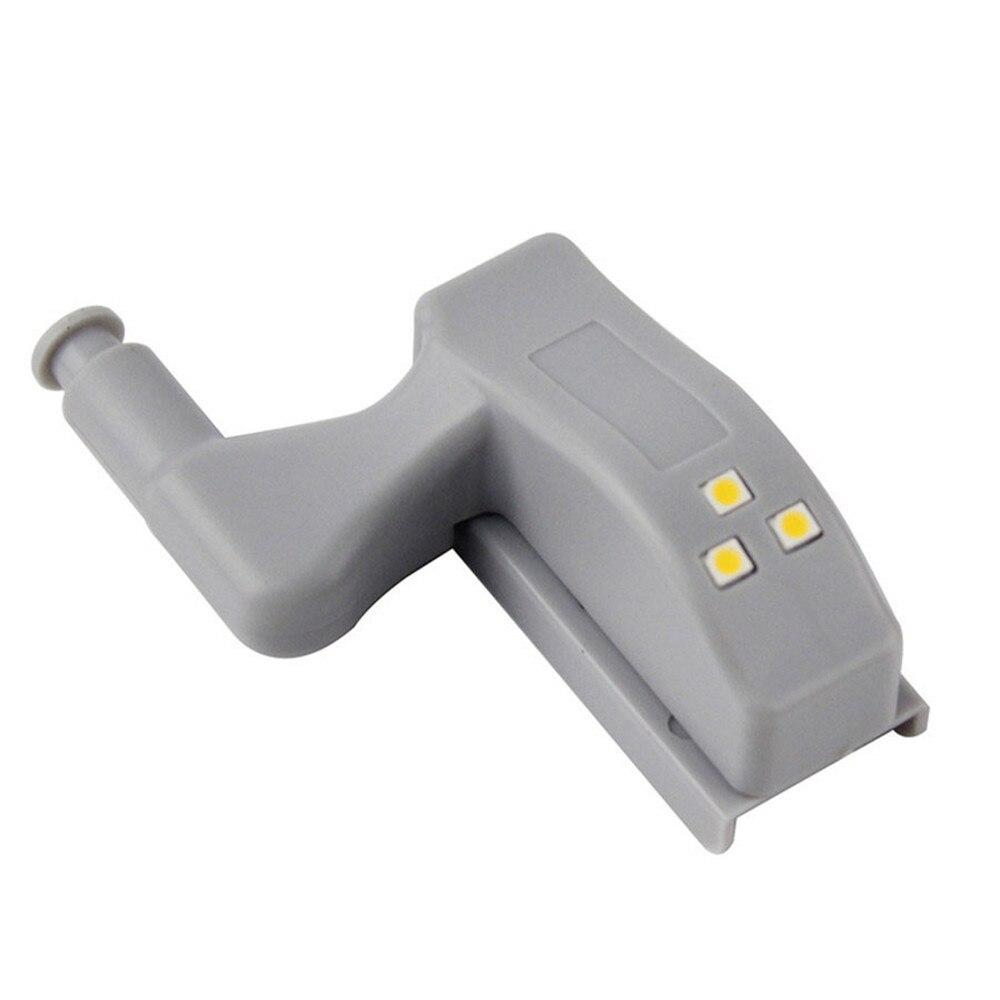 DC12V Mini Hinge LED Sensor Under Cabinet Lights Universal Hardware Kitchen Bedroom Living Room Cupboard Wardrobe Night Light