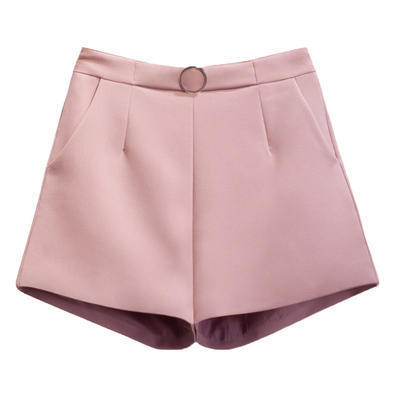 2019 Summer Wide Leg   Shorts   Women Fashion Casual   Short   Trousers Women Sexy High Waist   Shorts   Solid Ladies   Short   Feminino C4045