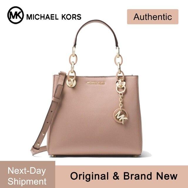 Michael Kors Cynthia Dressy Satchel Luxury Handbags For Women Bags Designer  by MK 771353f2b3b8